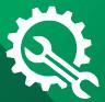 green Repairs symbol